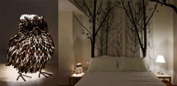 Moschino forest room - commercial wallcoverings