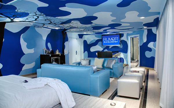 Digital Wallcoverings at the Rumor Hotel Las Vegas