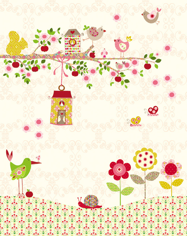 Jacky Joe - birdsong kids wall murals