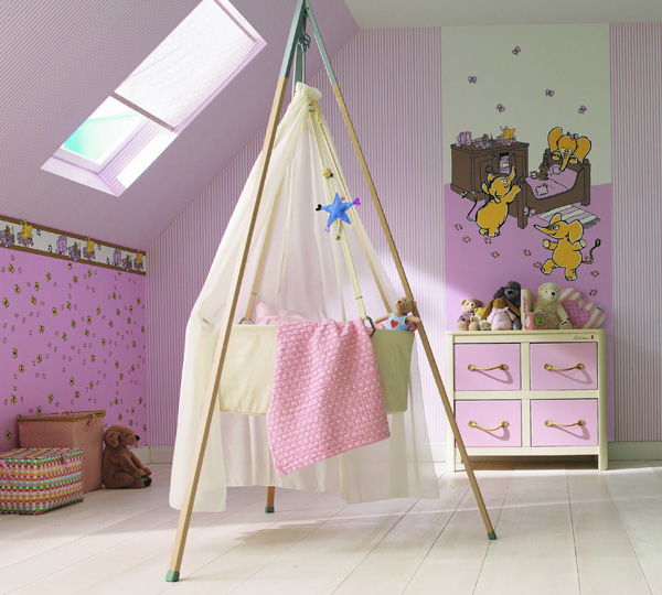 Kids wallpaper - Manekin by Marburg