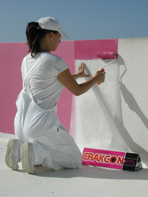 CRAKGON repairs surfaces like nothing else can, simply paint it on and the cracks are gone.