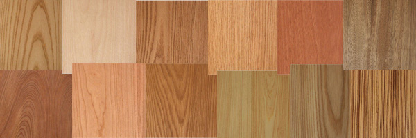 Real timber Veneers - Sustainably harvested FSC certified wood wallcoverings from Gilford