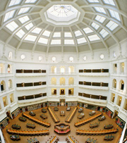 State Library of Victoria heritage dome: saved by CRAKGON