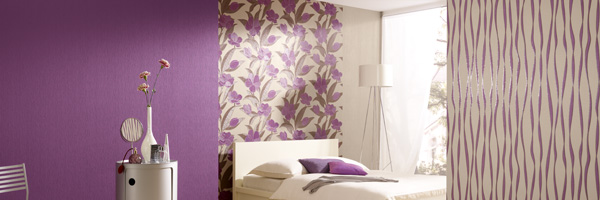 Plaisir wallpaper collection by Rasch