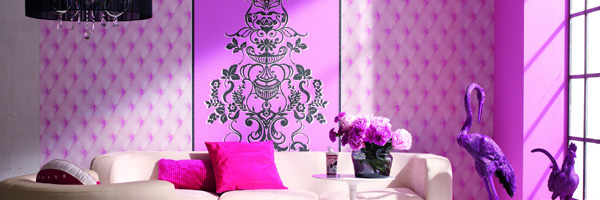 The amazing comeback: Wallpaper will change your life! Alice Whow wallpaper collection by Marburg