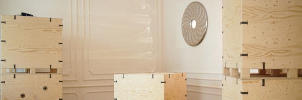 Match wallpaper with outstanding design - regularly! Oskar Zieta at Vienna designweek