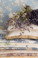 Brigitte von Boch - un jour a versailles wallpaper and fabrics by Rasch Textil