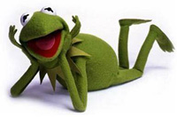 Kermit said its not easy being green we choose to differ