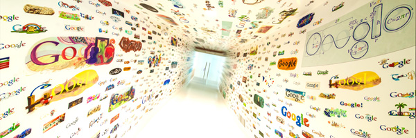 Google could have used erasawall - whiteboard wallcoverings by BREWSTER.