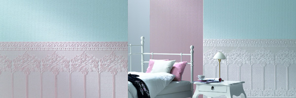 Patent Decor paintable wallpaper by Marburg