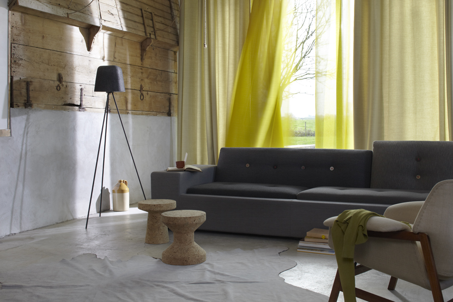 Wind, curtain fabric sheer by De Ploeg