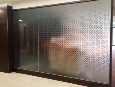 Digitally Printed Glass Film Galleries Hume Internationale