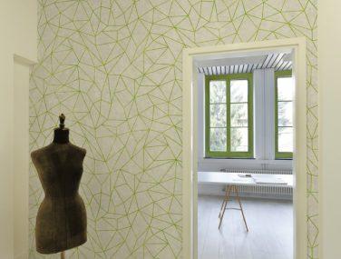 Newmor GeometricsLines Green Room 700x700