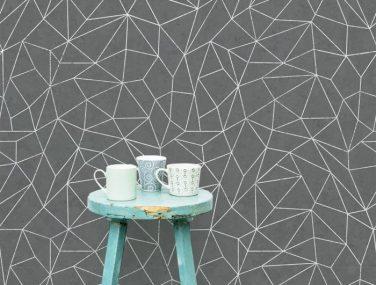 Newmor GeometricsLines Grey Room 700x700