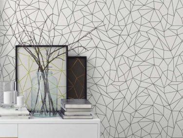 Newmor GeometricsLines White Room 700x700