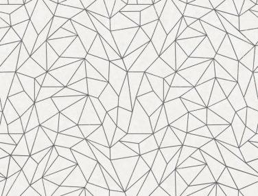 Newmor GeometricsNC16 Lines CW01 White 700x700