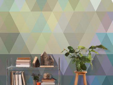 Newmor GeometricsTriangles Irridescent Room 1 700x700
