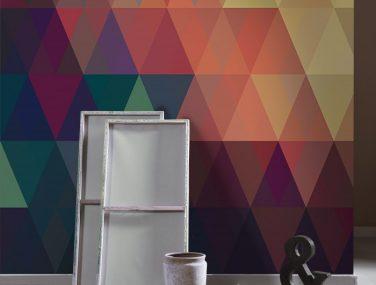 Newmor GeometricsTriangles Muted Room 700x700