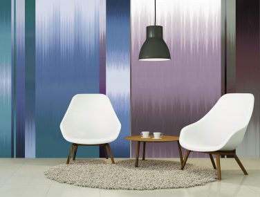 Newmor Ptolemy mann irregular ikat purple room 1 scaled