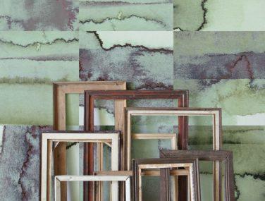 Newmor Watercolour Tiles Green 2