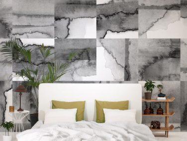 Newmor Watercolour Tiles Grey 2