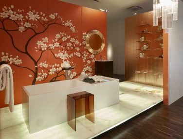Asia Collection Magnolia Tree Kartell by Laufen Showroom SDM2016 ph.franco chimenti