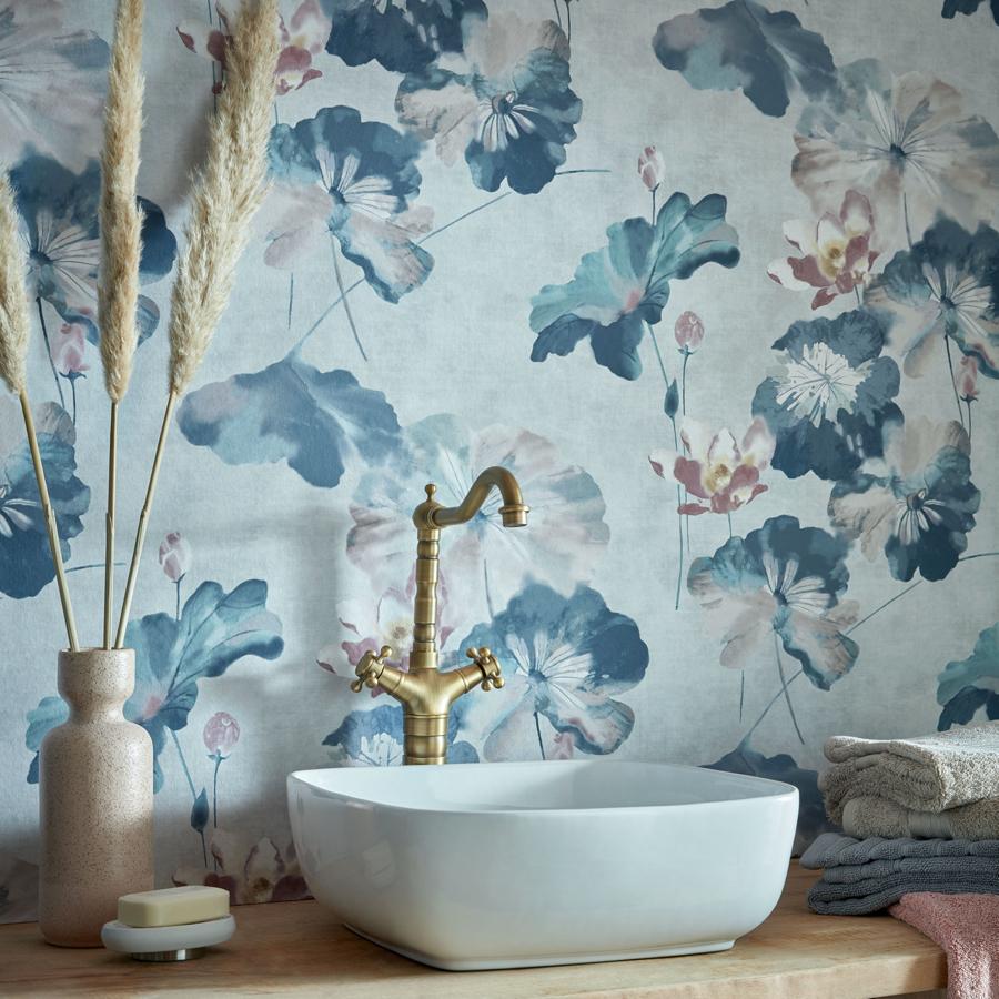 1838 2008 143 03 Water Lilies Blue Dusk